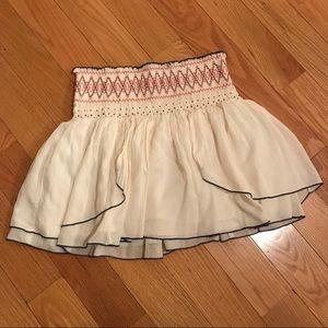 Free People Boho Beaded Skirt